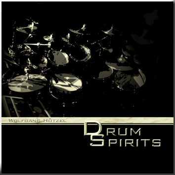 Wolfgang Hötzel - DrumSpriits - CD-Cover