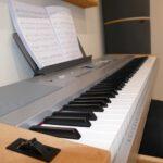 Hier siehst du das Tonstudio-eigene E-Piano und Keyboard Yamaha DGX-640.